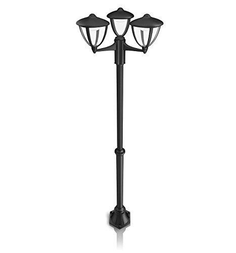 Philips 154733016 Robin Lampadaire Extérieur LED Intégrée Noir
