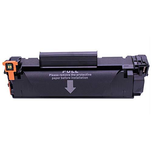 Color negro para el cartucho de tóner HP CB435A con el cartucho de impresión láser HP Laserjet P1006 P1005. El tóner funciona muy bien, los colores son vivos y brillantes.