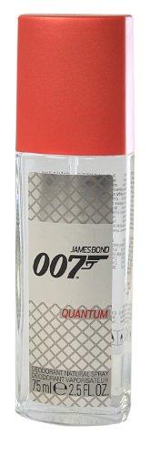 James Bond 007 Quantum Deodorant Natural Spray, 75 ml