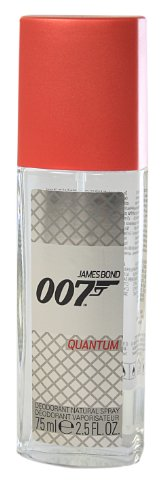 James Bond 007 Quantum Deodorant Natural Spray, 75 ml