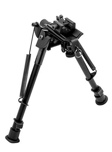 TRUGLO TAC-POD Adjustable Folding Tactical Bipod, Pivoting Base, Standard Height