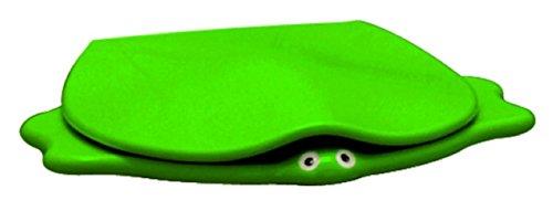 Keramag WC-Sitz Kind im Tierdesign mit Griff/Stütze, grün