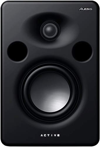 Alesis M1Active MK3 - Monitor de Estudio Activo Biamplificado con Woofer de Aluminio de 5 Pulgadas, Tweeter con Cúpula de Seda de 1 Pulgada, Guía de Ondas Optimizada, Entradas Combo