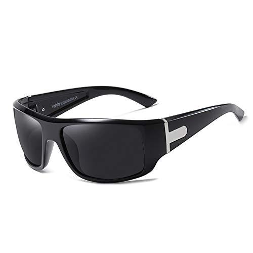 Gafas de Sol Deportivas polarizadas, Gafas de Ciclismo con protección UV400 para Hombres y Mujeres, Gafas de protección para los Ojos al Aire Libre para Correr, Escalar, Pescar, Conducir, Golf,C5