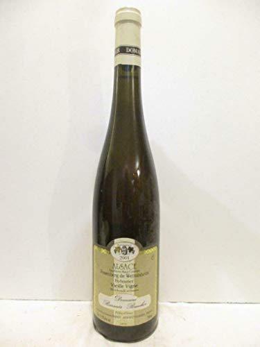 sylvaner domaine barmès buecher rosenberg de wettolsheim vieille vigne blanc 2001 - alsace