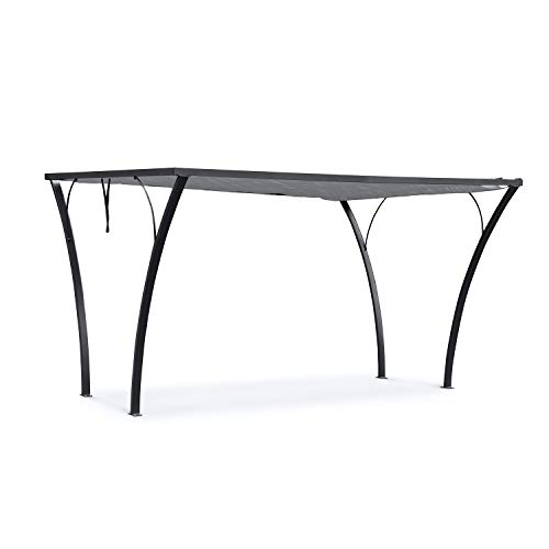 Blumfeldt Palazzo Gazebo Pergola Terrace Canopy Base Stand Plate for Gazebo Floor Mounting