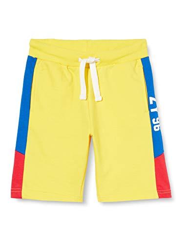ZIPPY Jungen Pantalón Corto Fleece Ss20 Boardshorts, Habanero Gold 13-0849, 9/10