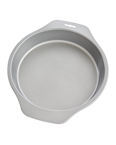 Mrs. Anderson's Baking 43708 Cake Pan, Carbon Steel with Quick-Release Non-Stick Coating, 9-Inch