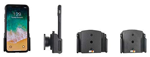 Brodit Passive verstellbare Halterung für Apple iPhone X, iPhone XR & iPhone XS, iPhone 11, schwarz