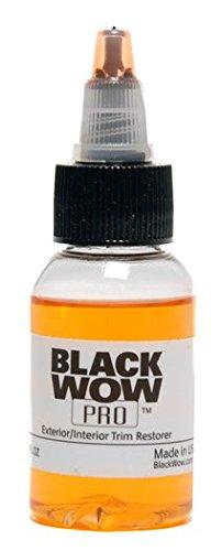 Black WOW Professional Trim Restorer 1 oz.
