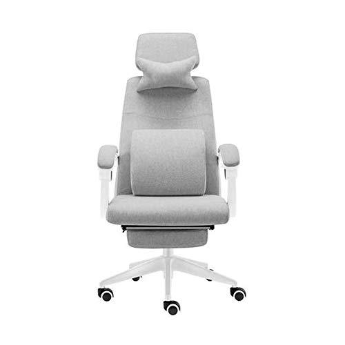 Moderne Esszimmerstühle - Art Office Drehstuhl - Lifting Boss Chair for Zuhause/Schlafzimmer/Arbeitszimmer/Büro/Besprechungszimmer/Büropersonal Grau 60x60x97CM Geeignet for Wohnzimmer, Schla