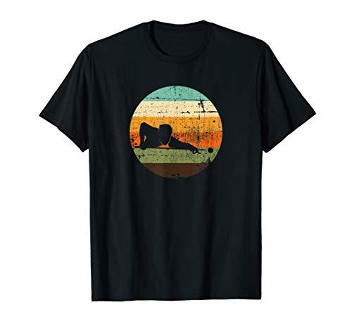 Retro Vintage Billard Sprüche Snooker Pool Billard T-Shirt