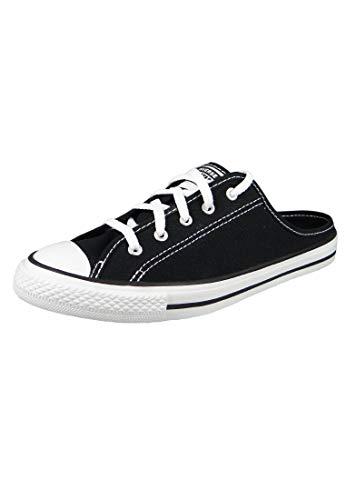 Converse Chucks 567945C Schwarz Chuck Taylor All Star Dainty Mule Slip - Black White, Groesse:40 EU