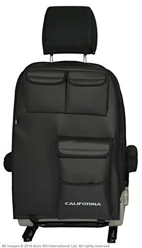 INKA Multibox - Organizador para asientos con bolsillos para herramientas VolksWagen California T6 T5, color negro