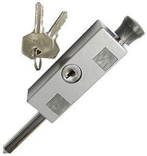 Sliding Door and Window Lock Aluminum (Patio Door Lock - Keyed)
