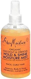 Shea Moisture Organic Hold & Shine Hair Moisture Mist 8 Ounces