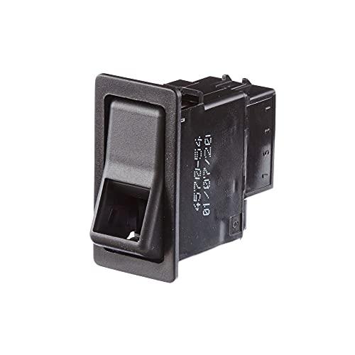HELLA 6FH 004 570-541 Interrupteur - Commande de basculement/Commande de touches - Vers° d'équip.: I->0-II - Nombre de connexions: 6 - sans fonction confort