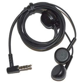Fone de Ouvido Estéreo Preto 16 OHMS LG para Smartphone