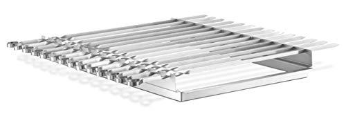 THÜROS Schaschlikspießaufsatz inkl. 14 Spießen für THÜROS T4 Grillfläche 40x60 cm