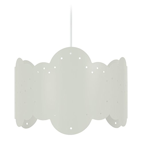 Tosel 17331 Suspension 1 Lumière, Acier, E27, 40 W, Vert, 30 x 90 cm
