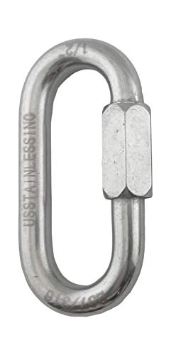"""Stainless Steel 316 Quick Link 1/2"""" (12mm) Marine Grade"""