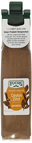 Fuchs Gewürze Ceylon Zimt gemahlen, 4er Pack (4 x 20 g)