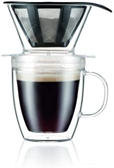 Bodum 12 Ounce Pour Over Coffee Dripper Set