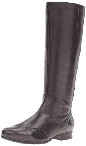 Spring Step Women's Macbeth Engineer Boot, Dark Brown, 36 EU/5.5-6 M US