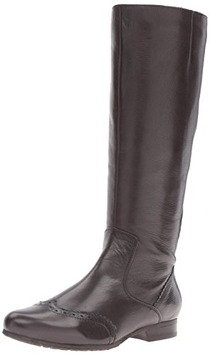 Spring Step Women's Macbeth Engineer Boot, Dark Brown, 36 EU/5.5-6 M US