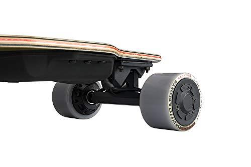 BACKFIRE G2T Electric Longboard & Hub Motor Electric Skateboard- Galaxy Grip: 23 mph Top Speed, Replaceable 83mm Wheels & 96mm Wheels Included