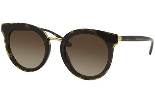 Dolce&Gabbana Damen 0DG4371 Sonnenbrille, HAVANA, 52