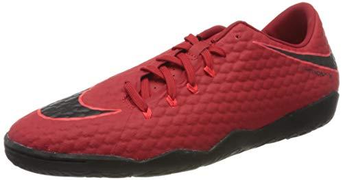 Nike Hypervenom X Phelon III IC 852563, Botas de fútbol Hombre, Rot (Universität Rot/Schwarz-Helles Karmesinrot 616), 44.5 EU