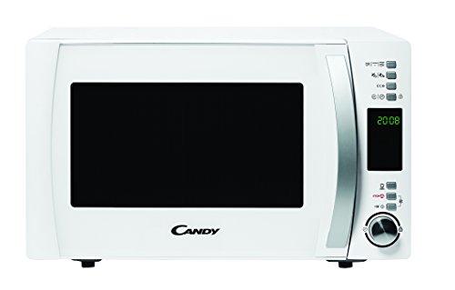Candy Cmxg22Dw Microondas con grill y cook in app, Capacidad 22L, 40 programas automáticos, Plato giratorio 24,5cm, 1250 W, 22 litros, Blanco