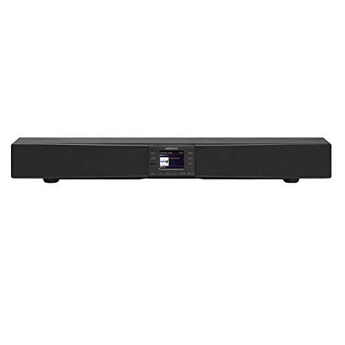 Sangean SB-100 Soundbar - Stereoanlage mit Radio - Bluetooth, WLAN und NFC - schwarz
