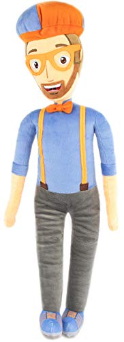 Jay Franco Blippi Stevin Plush Stuffed Pillow Buddy - Super Soft Polyester Microfiber, 24 inches (Official Blippi Product)