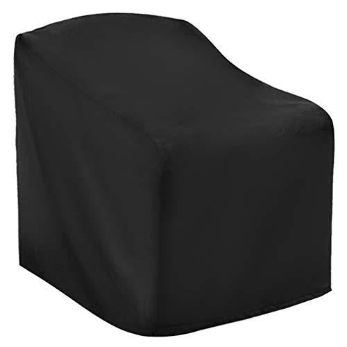 kuou Garden Chair Cover, Reclining Chair Protective Cover Patio Stacking Chair Cover for Outdoor Patio Garden (120 x 65 x 65 x 80cm)