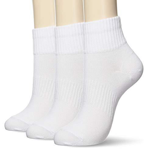 [アツギ] School Time(スクールタイム) ハイカット丈ソックス スクールソックス 学生 靴下 LH78043 ガールズ ホワイト 22~24cm-(日本サイズM相当)