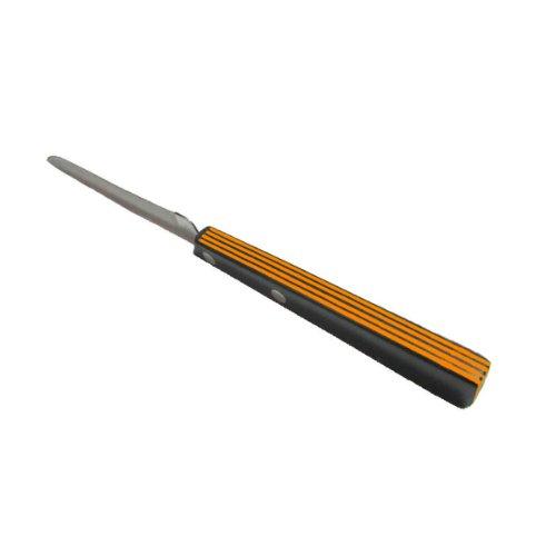 Güde Universalmesser schwarz/orange Küchenmesser, Mehrfarbig, One Size