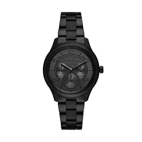 Michael Kors Damen Analog Quarz Uhr mit Edelstahl Armband MK6608