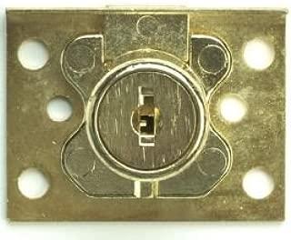 Corbin Cabinet Lock (CCL) 02065-US4-KD Deadbolt Drawer Lock, 7/8