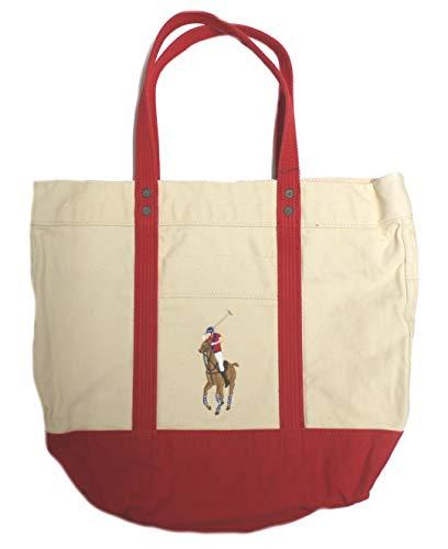 Polo_Ralph Lauren - Bolso de tela de Lona para mujer, color, talla...