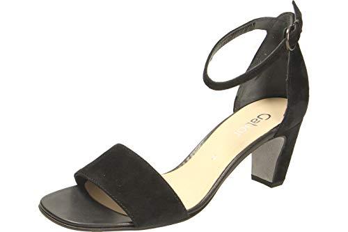Gabor Shoes Damen Fashion Riemchensandalen, Schwarz (Schwarz 17), 38.5 EU