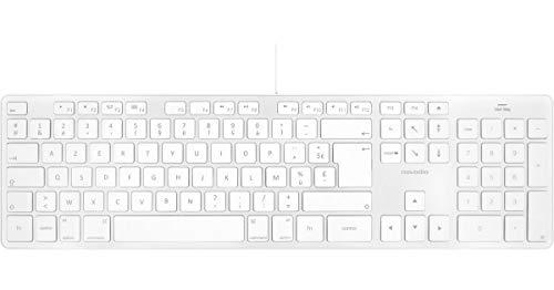 Novodio Touch Keyboard - Clavier AZERTY USB Mac