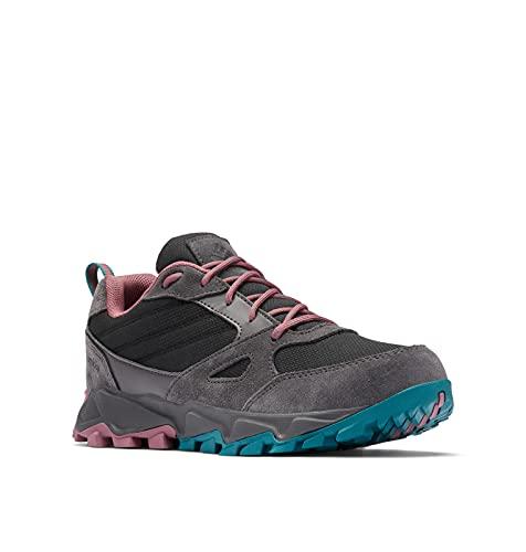 Columbia Women's IVO Trail Waterproof Hiking Shoe, Black/Antique Mauve, 9