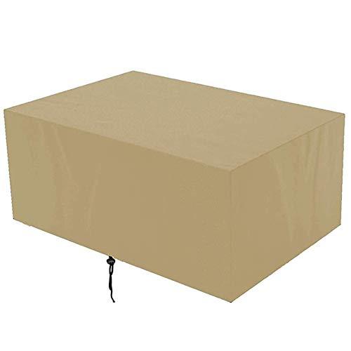 DKLE Gartenmöbelabdeckungen, wasserdichte Außenabdeckung Möbelschutzabdeckung 420D Oxford Staubbeständig für Gartensofa, Außenbereich, Tisch und Stühle