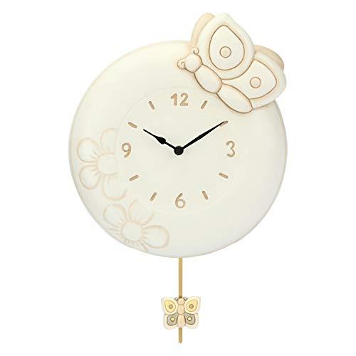 THUN - Orologio a Pendolo Elegance - Ceramica - 30,2 x 26 h cm