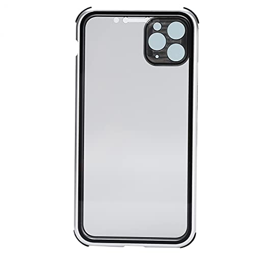 KAKAKE Cubiertas para teléfonos móviles, se Ajustan sin Problemas Más Sensible Adsorción magnética Original Vidrio Templado Transparente Vidrio de Dos Lados para Oficina para iPhone 11 Pro MAX