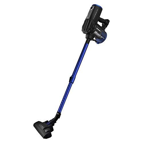 Cecotec Aspirador Vertical Conga ThunderBrush 550. Aspirador Vertical 360º 2 en 1, Aspirador Vertical y de Mano, Tecnología Ciclónica, Eficiencia Energética Clase A+, Bajo Consumo