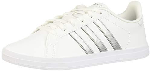 adidas Damen COURTPOINT Tennisschuhe, Ftwbla/Plamet/Grasua, 42 EU