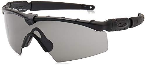 Oakley Men's Ballistic M Frame 2.0 Rectangular Sunglasses, Matte Black, 0 mm